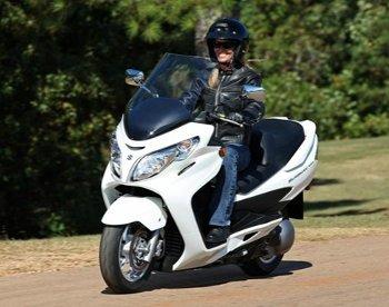 Suzuke Burgman scooter