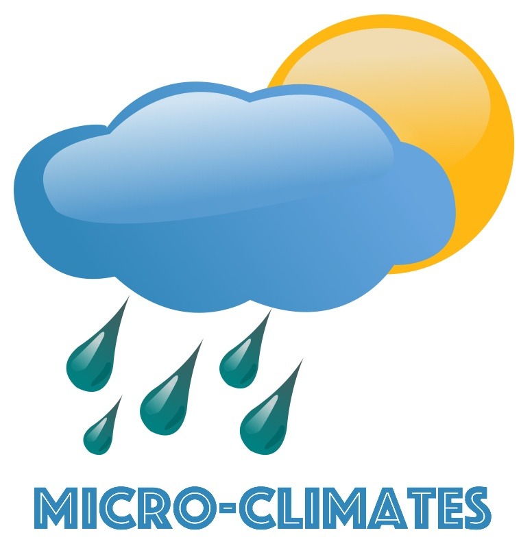 Graphic. Micro-climates