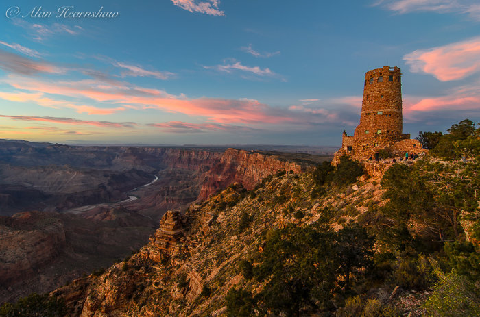The Watchtower. Grand Canyon